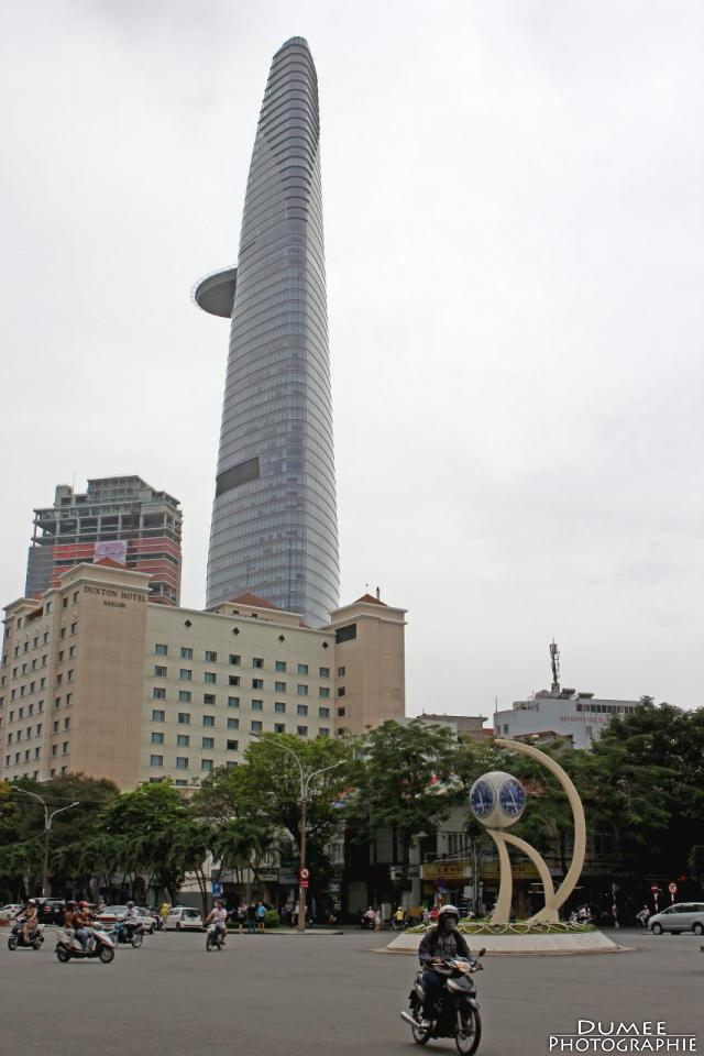 wanderlust, travel, backpack, vietnam, ho chi minh, saigon, bitexco tower
