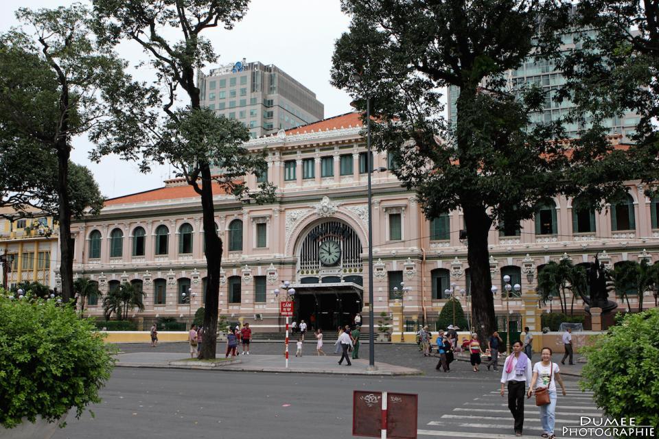 wanderlust, travel, backpack, vietnam, ho chi minh, saigon, central post office
