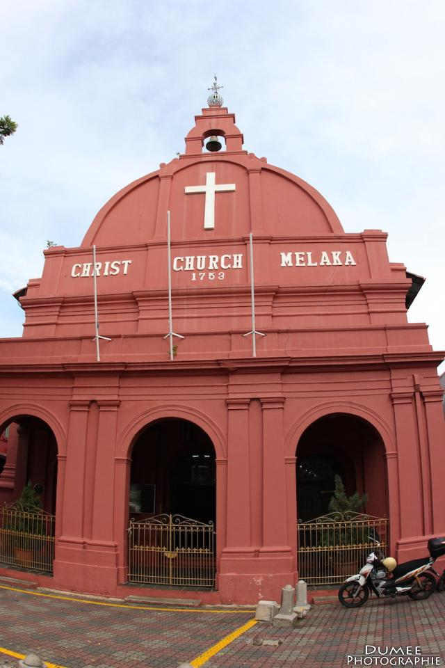 Wanderlust, travel, backpack, malaysia, malacca, christ church