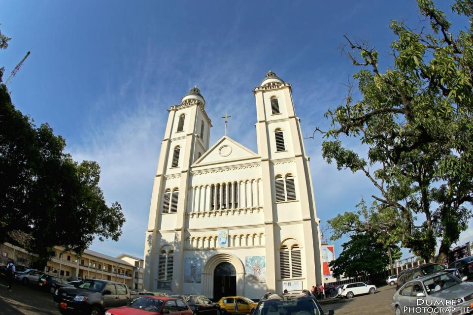 Wanderlust, travel, backpack, Cameroon, Douala, Cathedral of Saints Peter and Paul