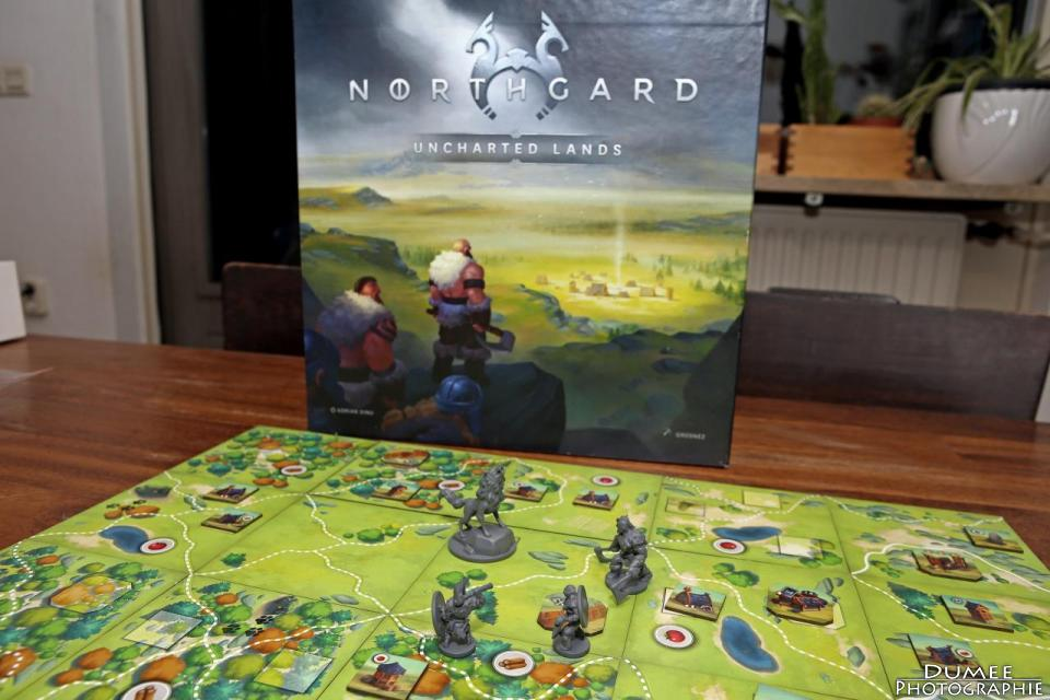 boardgame, dumeeple, northgard uncharted lands, open sesame games