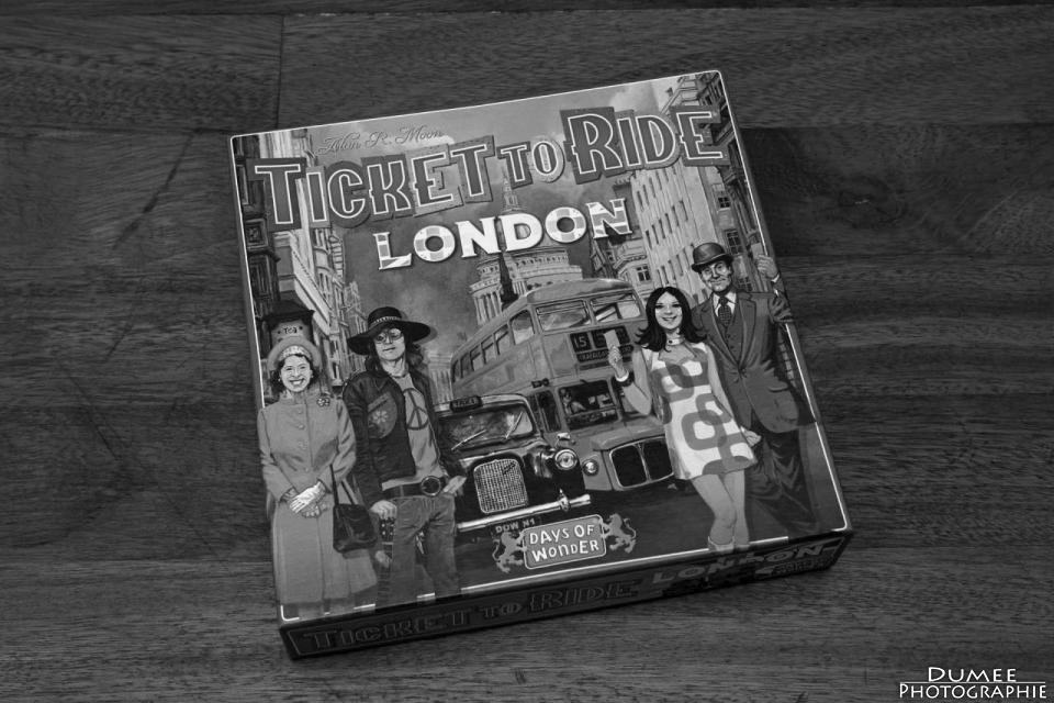 boardgame, dumeeple, ticket to ride, London, days of wonder
