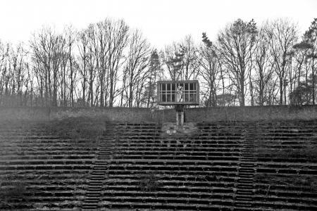 urban exploring, abandoned, open air theatre, lichtenberg, weert, netherlands
